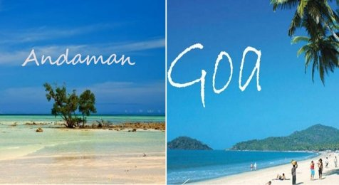 andaman or goa